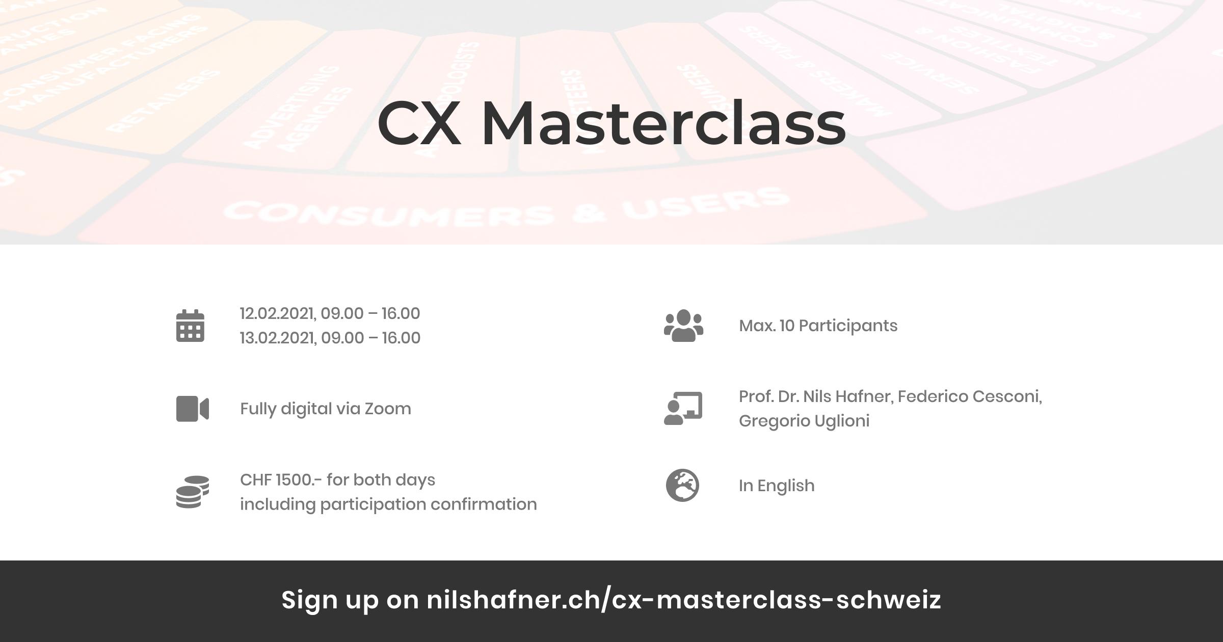 CX Masterclass - Social Meta